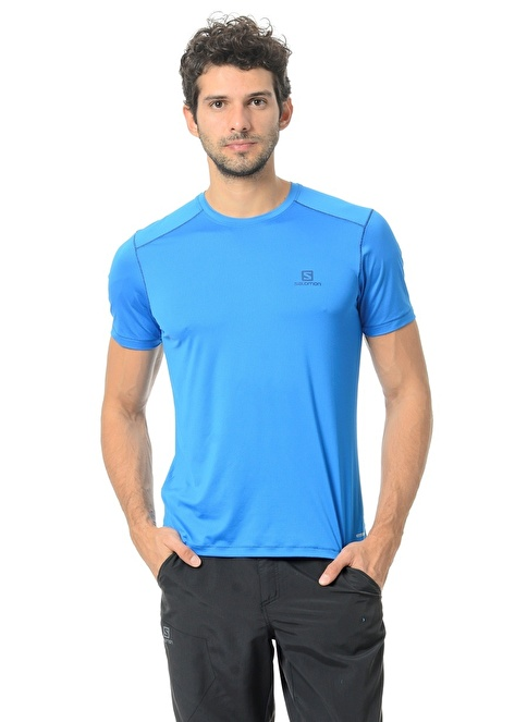 Salomon T-Shirt Mavi